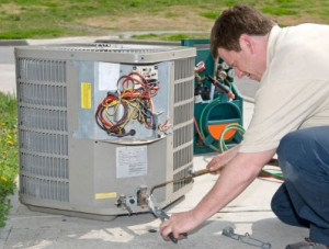 an air conditioning unit is replaced in columbia missouri